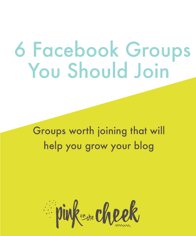 6 Facebook Groups You Should Join