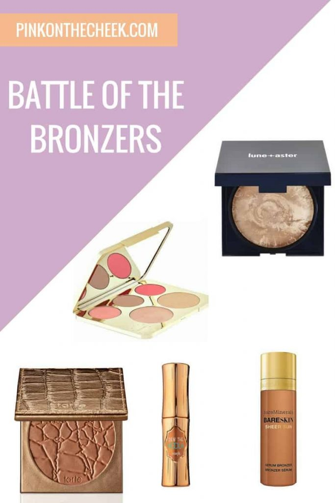 See how powder and liquid bronzers rate on pinkonthecheek.com
