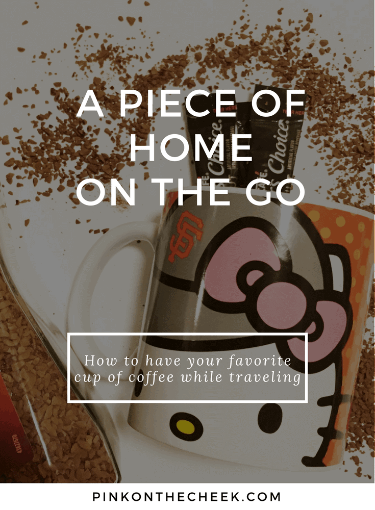 A piece of home with Nescafe Tasters Choice