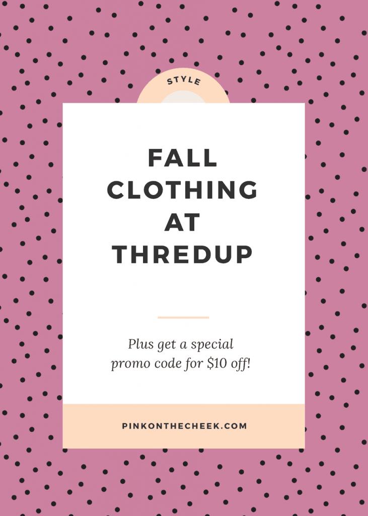Fall Clothing at Thredup
