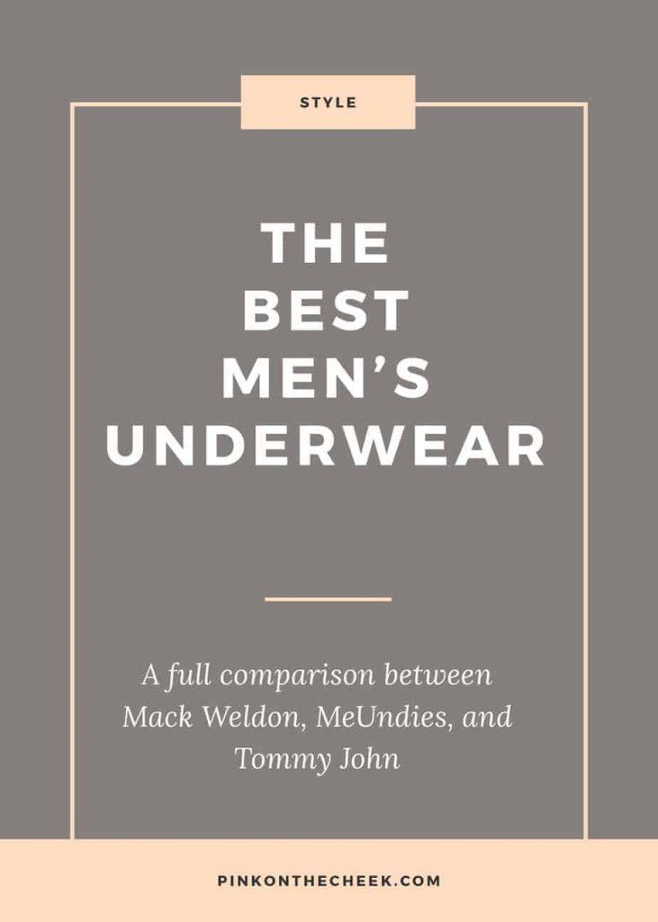 The best men's underwear, compared between Mack Wedon, MeUndies, and Tommy John.