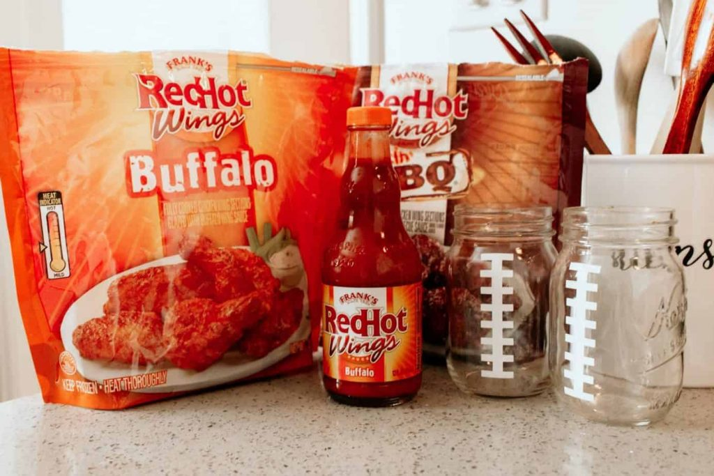 Super Bowl Party Ideas with Frank's Red Hot Buffalo Wings.
