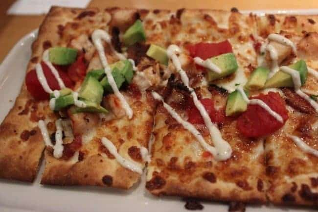 California-Club-Flat-Bread-Pizza