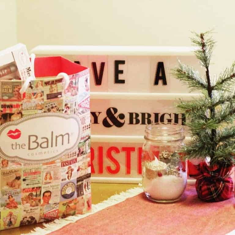 theBalm Holiday Giveaway