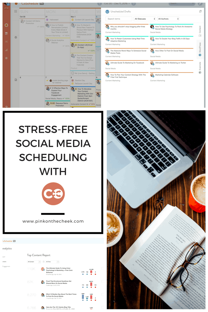 Stress Free Social Media Scheduling with Coschedule