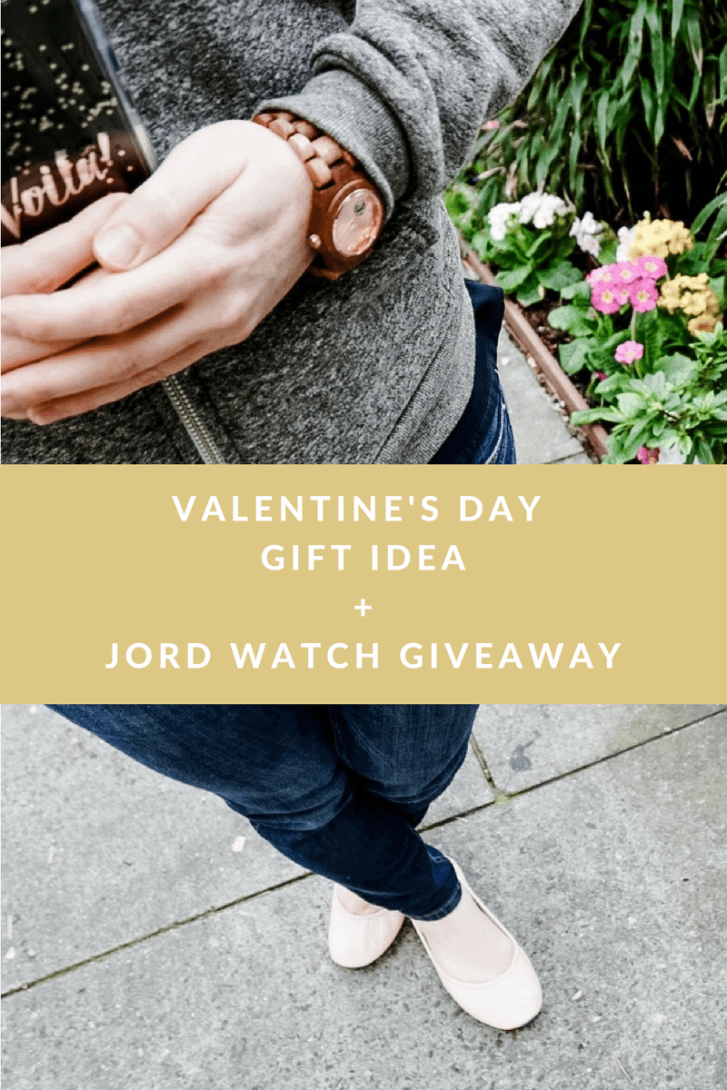 valentine's day gift idea+jord watch giveaway