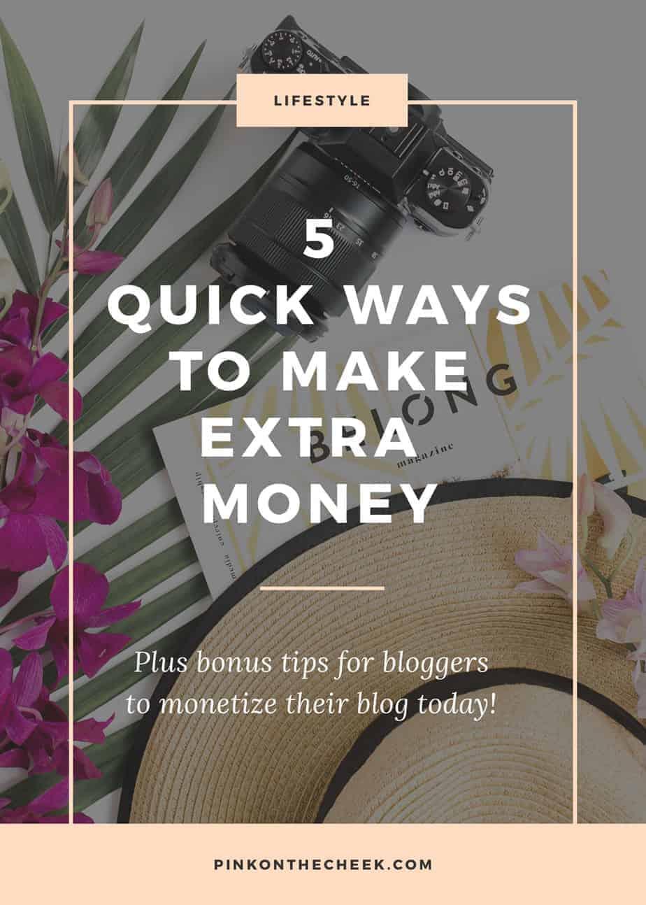 ways to make pocket money