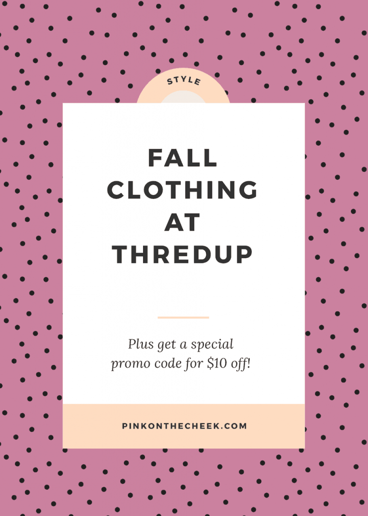 Fall Clothing at Thredup