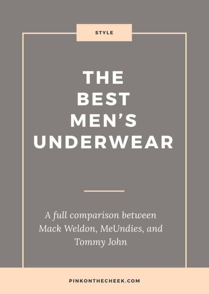 The best men's underwear, compared between Mack Wedon, MeUndies, and Tommy John.