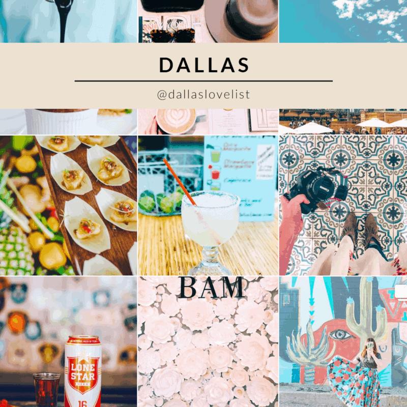 Dallas Love List