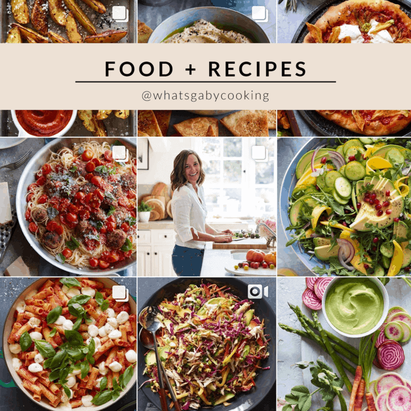 What's Gaby Cooking Instagram theme