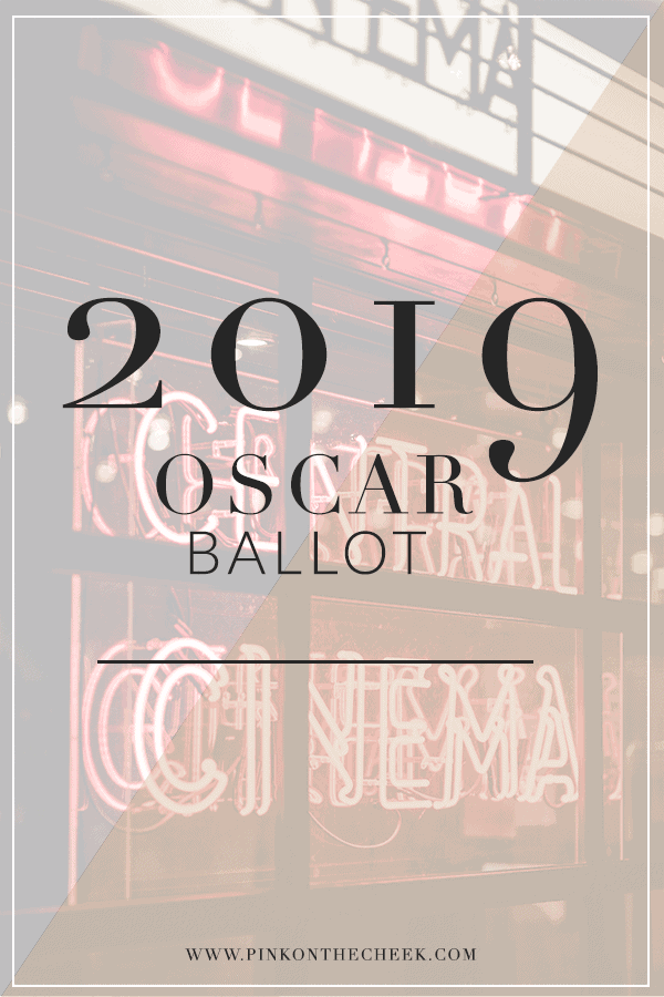 graphic regarding Printable Ballot named 2019 Oscar Evening with Absolutely free Oscar Ballot Printable Purple upon