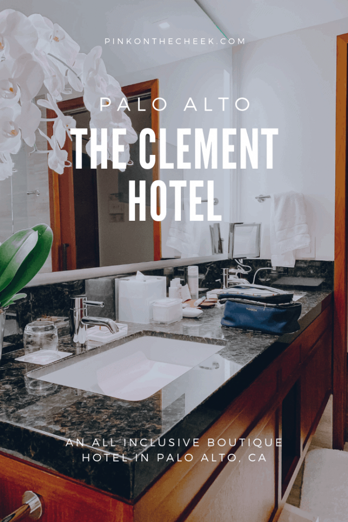 This year to celebrate Ernie's birthday, we decided to stay in town and have a mini staycation at The Clement Hotel, an all-inclusive boutique hotel in Palo Alto.
