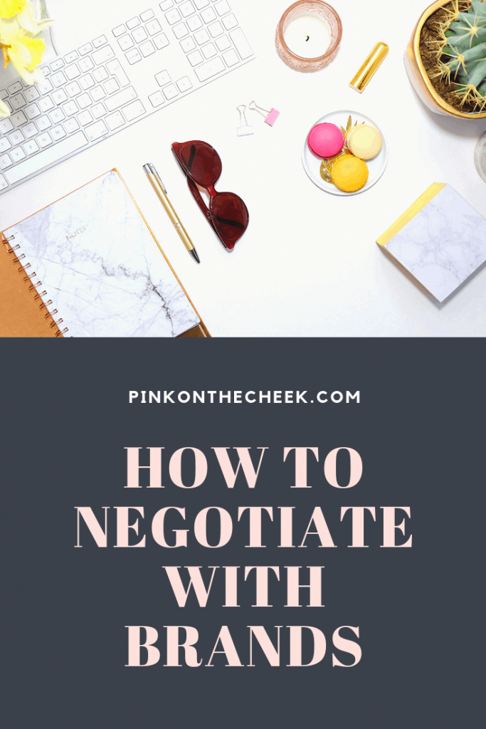 Are you stumped on what to say in those negotiation emails regarding rates?  As a result, I am sharing the templates that I personally use to discuss campaign rates and how to gracefully say no if the campaign is not a good fit.