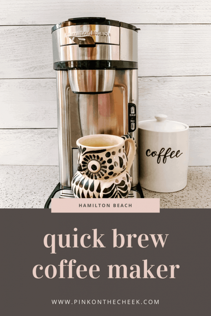 The Hamilton Beach Scoop Coffeemaker is the best single cup coffee maker without pods.