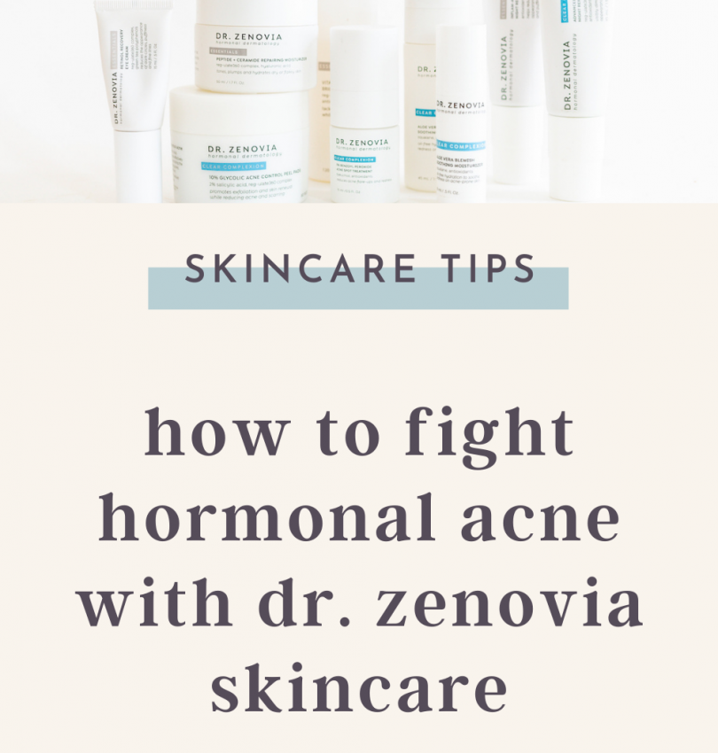 How to fight hormonal acne with dr. Zenovia